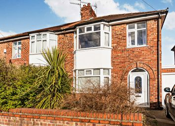Thumbnail 3 bed semi-detached house for sale in Malvern Avenue, York, North Yorkshire