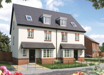 "Thumbnail 4 bed town house for sale in ""The Wimborne"" at Heron Way, Edleston, Nantwich"