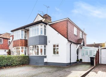 Thumbnail 4 bed semi-detached house for sale in Briarwood Road, Stoneleigh, Epsom