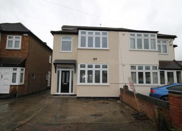 Thumbnail 4 bedroom semi-detached house for sale in Amery Gardens, Romford