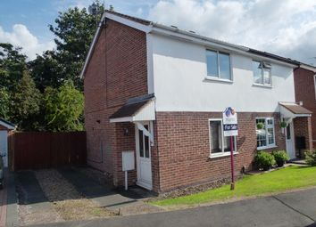 Thumbnail 2 bed semi-detached house for sale in Monteith Place, Castle Donington, Castle Donington, Derbyshire