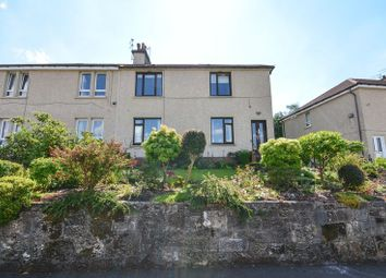 Thumbnail 2 bed flat for sale in Watson Crescent, Kilsyth, Glasgow