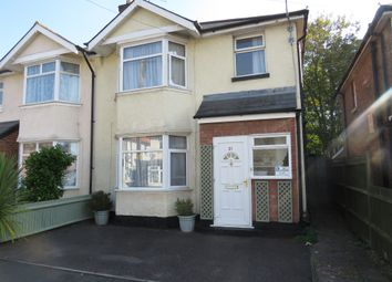 Thumbnail 3 bedroom semi-detached house for sale in Percy Road, Southampton