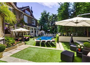 Thumbnail 10 bed detached house to rent in Frognal, Hampstead, London
