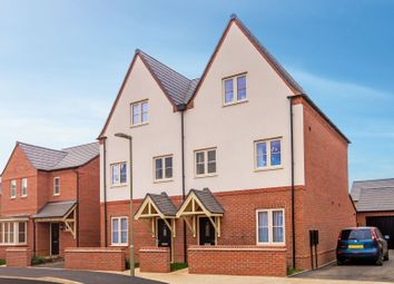 """Thumbnail 4 bedroom semi-detached house for sale in """"The Hanwell"""" at Bretch Hill, Banbury"""