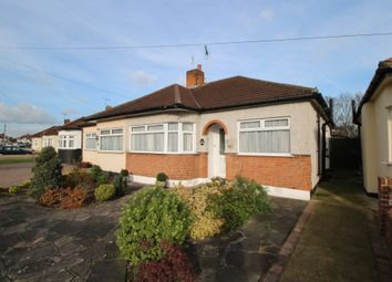 Thumbnail 2 bed semi-detached bungalow for sale in Cambridge Avenue, Gidea Park, Romford