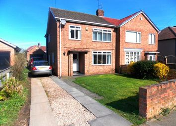 Thumbnail 3 bedroom semi-detached house for sale in The Crescent, Ormesby, Middlesbrough, North Yorkshire