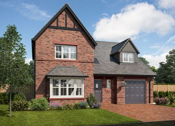 "Thumbnail 4 bed detached house for sale in ""Taunton"" at School Road, Cumwhinton, Carlisle"