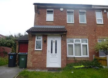 Thumbnail 3 bedroom property to rent in Snapdragon Drive, Walsall