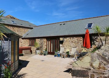 Thumbnail 2 bed barn conversion for sale in Trenance, Mawgan Porth
