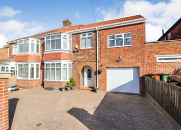 Thumbnail 4 bed semi-detached house for sale in Lowdale Lane, Hartlepool