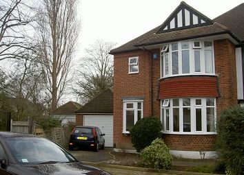 Thumbnail 4 bed semi-detached house to rent in Totteridge, London