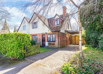 Thumbnail 3 bed semi-detached house for sale in Trinity Crescent, Sunningdale, Ascot
