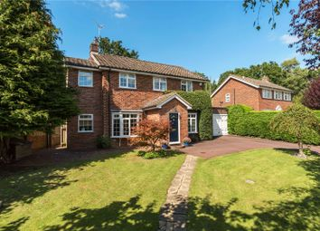 Thumbnail 5 bed detached house for sale in Robin Way, Wormley, Godalming, Surrey