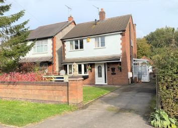 Thumbnail 3 bed detached house for sale in Station Road, Bagworth, Coalville