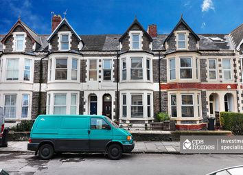 Thumbnail 7 bed terraced house for sale in Claude Road, Roath, Cardiff