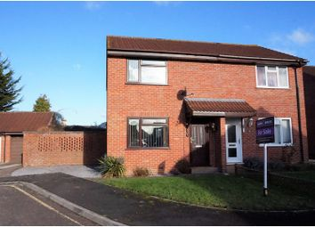 Thumbnail 2 bed semi-detached house for sale in Lavender Grove, Taunton