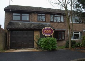 Thumbnail 4 bed semi-detached house for sale in Smither Way, Bugbrooke, Northampton