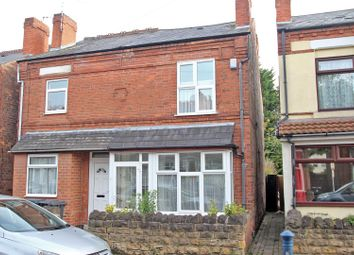 Thumbnail 2 bedroom semi-detached house for sale in Mayfield Road, Carlton, Nottingham