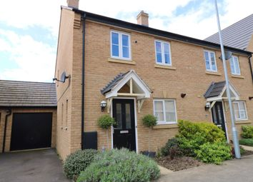 Thumbnail 3 bed end terrace house for sale in Mitchcroft Road, Longstanton, Cambridge