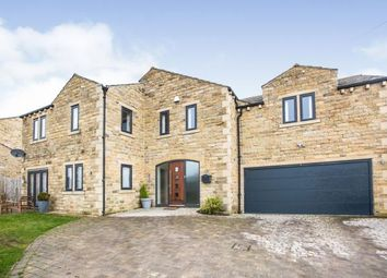 Thumbnail 5 bed detached house for sale in Scausby Mansions, Halifax, West Yorkshire