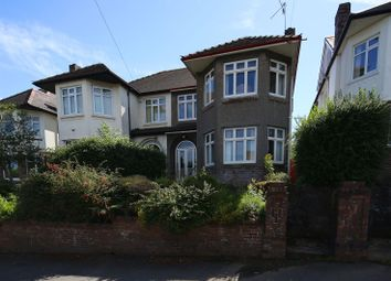 Thumbnail 4 bed property for sale in Llanedeyrn Road, Penylan, Cardiff