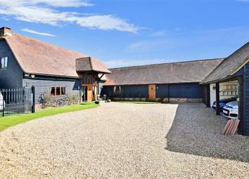 Thumbnail 5 bed barn conversion for sale in Ham Green, Upchurch, Sittingbourne, Kent