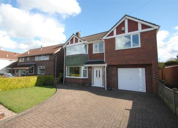 Thumbnail 4 bed detached house for sale in Barley Road, Thelwall, Warrington