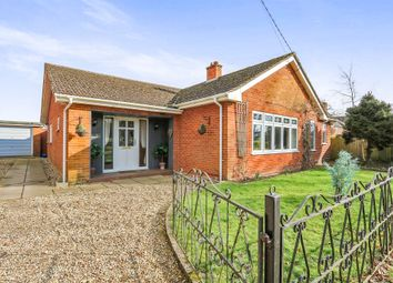 Thumbnail 3 bed detached bungalow for sale in The Green, Old Buckenham, Attleborough