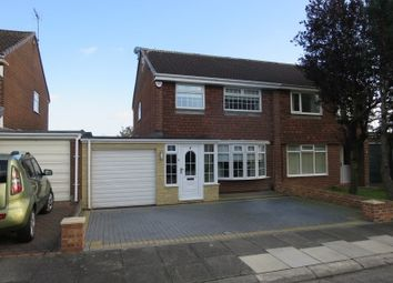 Thumbnail 3 bed semi-detached house for sale in Basil Way, Holder House, South Shields