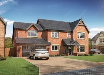 Thumbnail 4 bed detached house for sale in Medburn Park, Medburn, Newcastle Upon Tyne