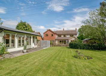 Thumbnail 5 bed detached house for sale in Church Road, Bradley Green, Redditch