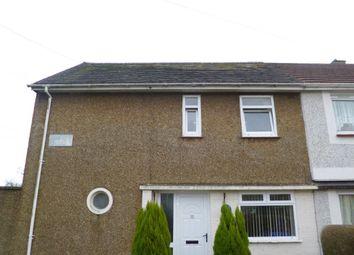Thumbnail 3 bedroom property to rent in Eiddwen Road, Penlan, Swansea
