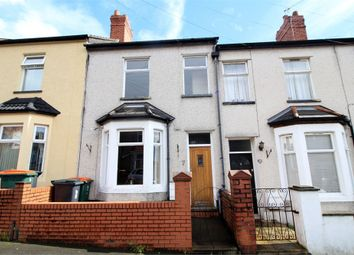 Thumbnail 3 bed terraced house for sale in Carisbrooke Road, Newport