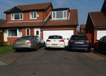 Thumbnail 4 bed detached house for sale in Thornbury Avenue, Seghill, Cramlington