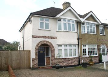 Thumbnail 3 bed semi-detached house for sale in King George Avenue, Walton-On-Thames