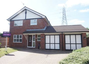 Thumbnail 4 bed detached house for sale in Ashbrook Avenue, Sutton Weaver, Runcorn