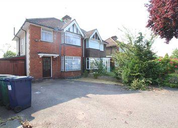 Thumbnail 3 bed semi-detached house to rent in Ellesmere Avenue, London