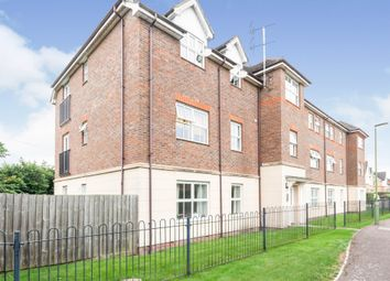 Thumbnail 2 bed flat for sale in Titchmarsh Close, Royston