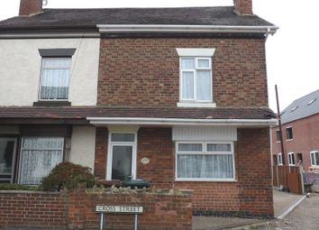 Thumbnail 3 bed semi-detached house to rent in Cross Street, Castle Gresley, Swadlincote