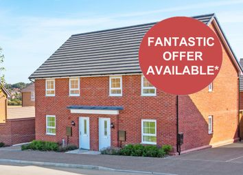 "Thumbnail 3 bedroom semi-detached house for sale in ""Maidstone"" at Mount Street, Barrowby Road, Grantham"