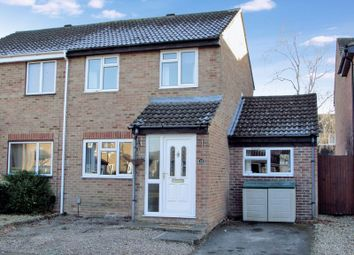 Thumbnail 2 bed semi-detached house for sale in Keighley Close, Thatcham