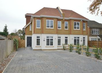 Thumbnail 4 bedroom semi-detached house for sale in Queens Road, Hersham Village, Walton-On-Thames, Surrey