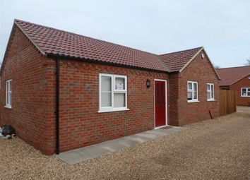 Thumbnail 2 bed detached bungalow to rent in Ramnoth Road, Wisbech