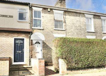 Thumbnail 3 bed terraced house for sale in Pembroke Road, Norwich