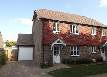 Thumbnail 3 bed semi-detached house for sale in Brambling Close, Horsham