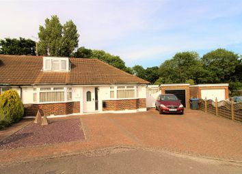Thumbnail 4 bed semi-detached bungalow for sale in Ravenswood Road, Burgess Hill, West Sussex.