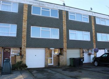 Thumbnail 3 bed town house for sale in York Road, Byfleet, Surrey
