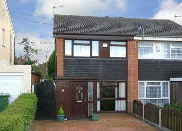 Thumbnail 3 bedroom semi-detached house for sale in Ryecroft Avenue, Wolverhampton
