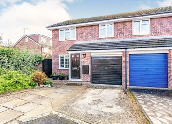 Thumbnail 3 bed semi-detached house for sale in Bissley Drive, Maidenhead
